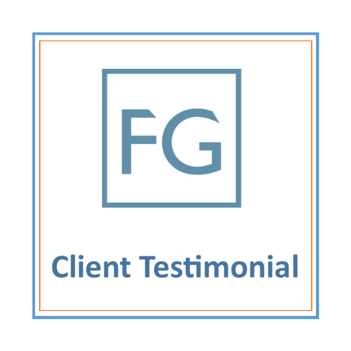 New client testimonial for Fryer Glass